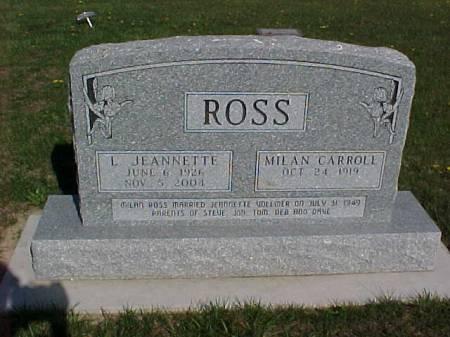 ROSS, L. JEANNETTE - Henry County, Iowa | L. JEANNETTE ROSS