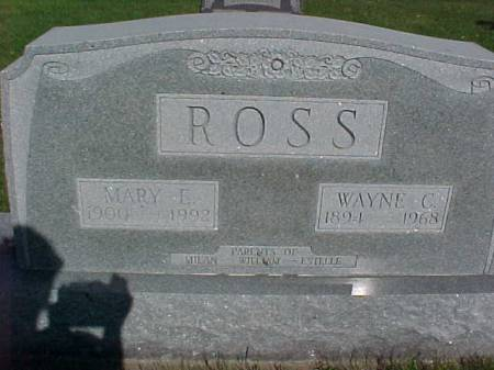 ROSS, WAYNE C. - Henry County, Iowa | WAYNE C. ROSS
