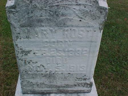 ROST, MARY - Henry County, Iowa | MARY ROST