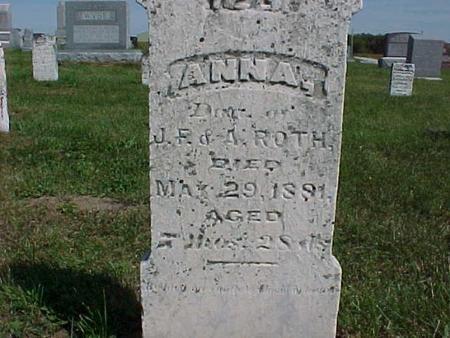 ROTH, ANNA - Henry County, Iowa | ANNA ROTH