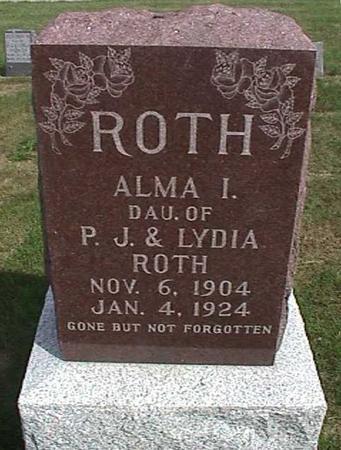 ROTH, ALMA - Henry County, Iowa | ALMA ROTH