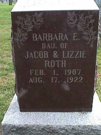 ROTH, BARBARA - Henry County, Iowa | BARBARA ROTH