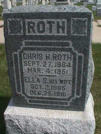 ROTH, ELLA S. - Henry County, Iowa | ELLA S. ROTH