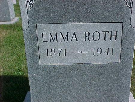 ROTH, EMMA - Henry County, Iowa | EMMA ROTH
