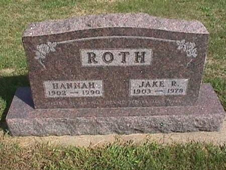 ROTH, JAKE R. - Henry County, Iowa | JAKE R. ROTH