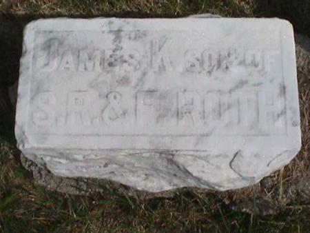 ROTH, JAMES - Henry County, Iowa   JAMES ROTH