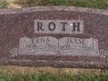 ROTH, ERNA - Henry County, Iowa   ERNA ROTH