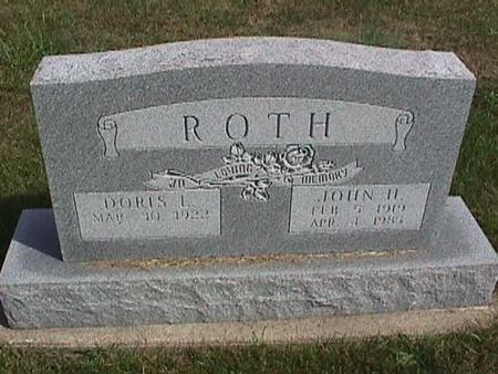 ROTH, DORIS - Henry County, Iowa | DORIS ROTH