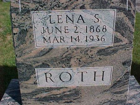 ROTH, LENA S. - Henry County, Iowa   LENA S. ROTH