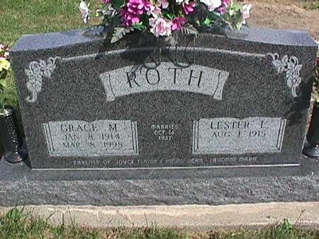 ROTH, LESTER L. - Henry County, Iowa | LESTER L. ROTH