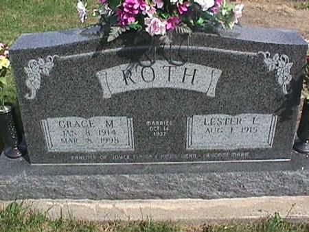 ROTH, GRACE M. - Henry County, Iowa | GRACE M. ROTH