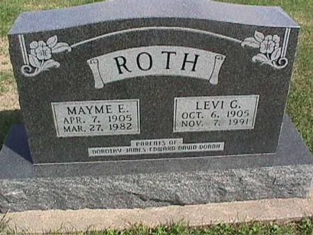 ROTH, LEVI G. - Henry County, Iowa   LEVI G. ROTH