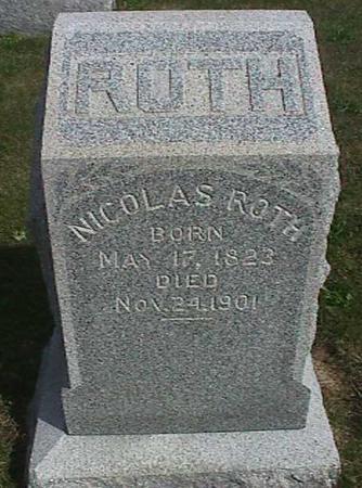ROTH, NICHOLAS - Henry County, Iowa   NICHOLAS ROTH