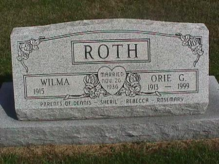 ROTH, ORIE - Henry County, Iowa | ORIE ROTH