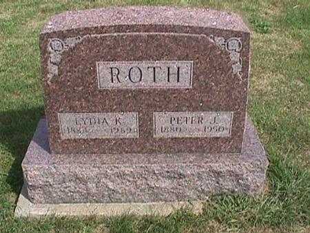 ROTH, LYDIA K. - Henry County, Iowa | LYDIA K. ROTH