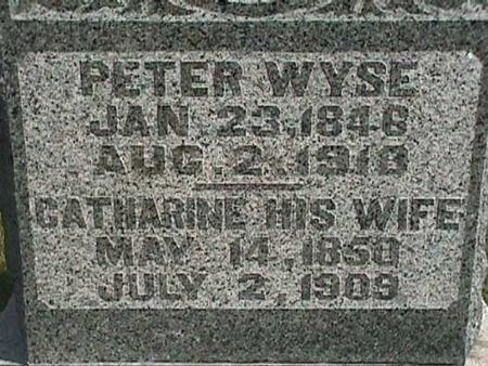 WYSE, PETER - Henry County, Iowa | PETER WYSE