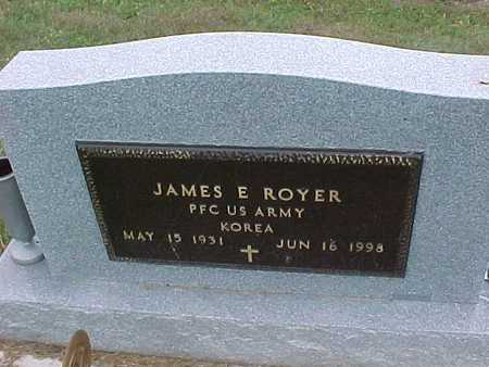 ROYER, JAMES E. - Henry County, Iowa   JAMES E. ROYER