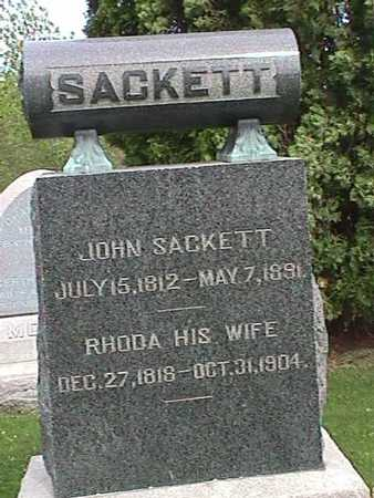 SACKETT, RHODA - Henry County, Iowa | RHODA SACKETT