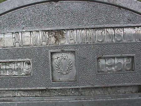 SAMMONS, ALVA - Henry County, Iowa | ALVA SAMMONS