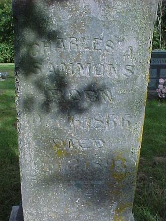 SAMMONS, CHARLES  A. - Henry County, Iowa | CHARLES  A. SAMMONS