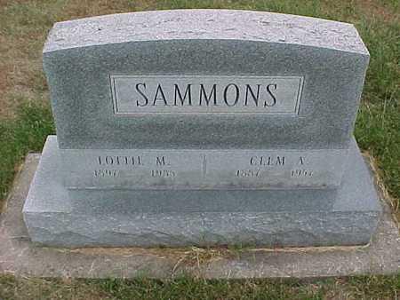 SAMMONS, LOTTIE - Henry County, Iowa | LOTTIE SAMMONS