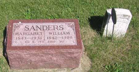 SANDERS, MARGARET - Henry County, Iowa   MARGARET SANDERS