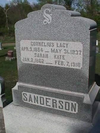 SANDERSON, CORNELIUS LACY - Henry County, Iowa   CORNELIUS LACY SANDERSON