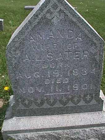 SATER, AMANDA - Henry County, Iowa   AMANDA SATER