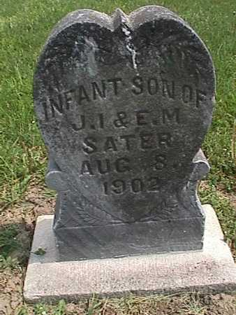 SATER, INFANT SON - Henry County, Iowa | INFANT SON SATER