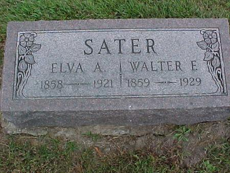 SATER, WALTER - Henry County, Iowa | WALTER SATER