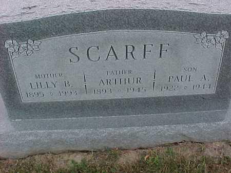 SCARFF, ARTHUR - Henry County, Iowa | ARTHUR SCARFF