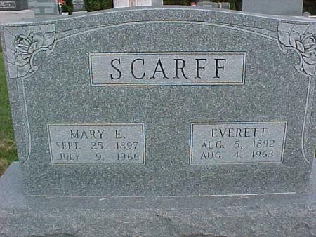 SCARFF, EVERETT - Henry County, Iowa | EVERETT SCARFF