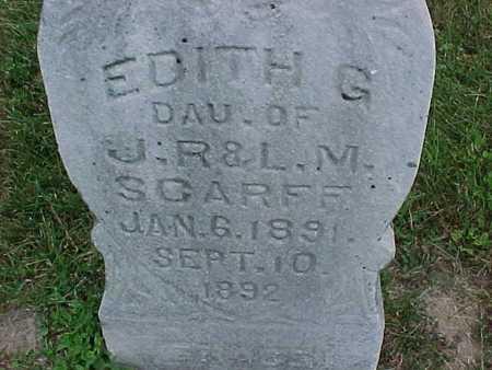 SCARFF, EDITH - Henry County, Iowa | EDITH SCARFF