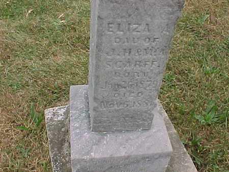 SCARFF, ELIZA - Henry County, Iowa | ELIZA SCARFF