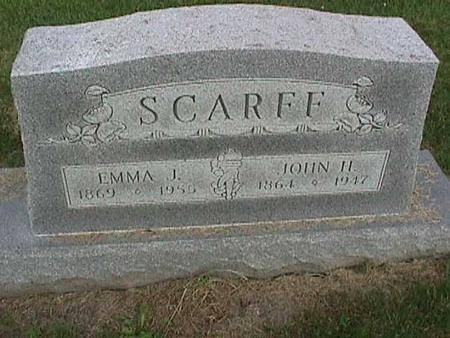 SCARFF, JOHN H - Henry County, Iowa | JOHN H SCARFF