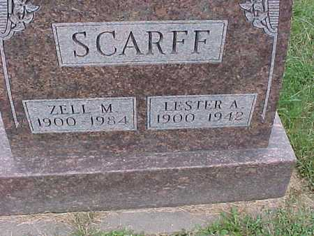 SCARFF, LESTER - Henry County, Iowa | LESTER SCARFF