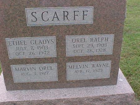 SCARFF, ETHEL GLADYS - Henry County, Iowa | ETHEL GLADYS SCARFF