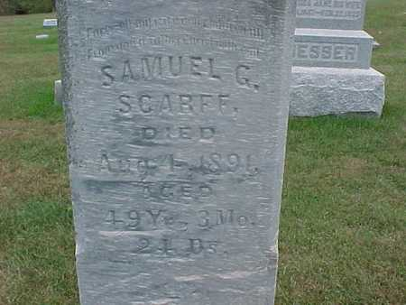 SCARFF, SAMUEL G. - Henry County, Iowa | SAMUEL G. SCARFF