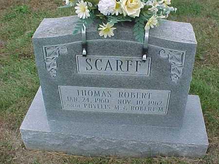 SCARFF, THOMAS ROBERT - Henry County, Iowa | THOMAS ROBERT SCARFF