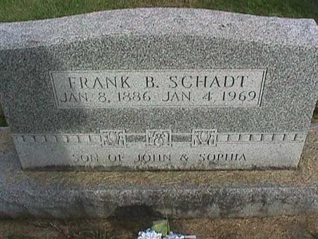 SCHADT, FRANK B. - Henry County, Iowa | FRANK B. SCHADT