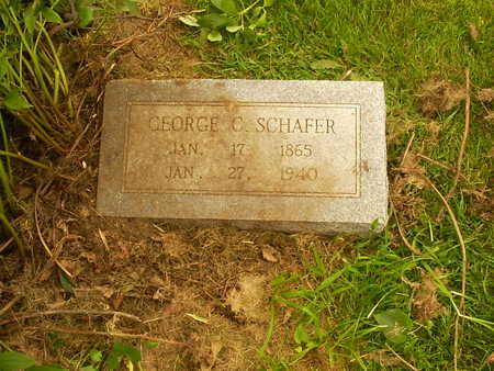 SCHAFER, GEORGE - Henry County, Iowa | GEORGE SCHAFER