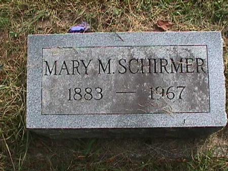 SCHIRMER, MARY M - Henry County, Iowa | MARY M SCHIRMER
