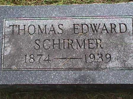SCHIRMER, THOMS EDWARD - Henry County, Iowa | THOMS EDWARD SCHIRMER