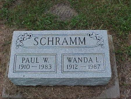 SCHRAMM, PAUL - Henry County, Iowa | PAUL SCHRAMM