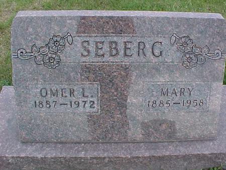 SEBERG, OMER - Henry County, Iowa   OMER SEBERG