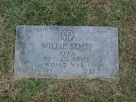 SEMPF, WILLIE - Henry County, Iowa | WILLIE SEMPF