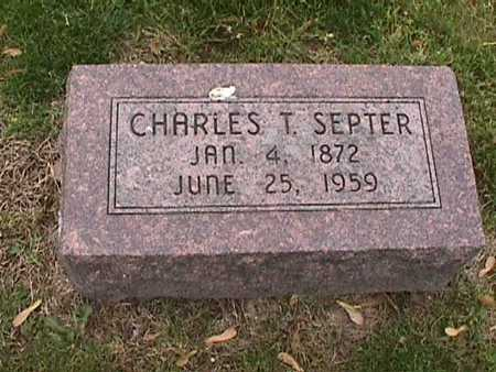 SEPTER, CHARLES - Henry County, Iowa | CHARLES SEPTER