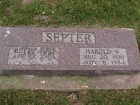 SEPTER, BETTY - Henry County, Iowa | BETTY SEPTER