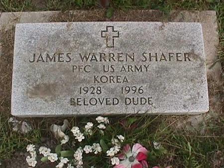 SHAFER, JAMES WARREN - Henry County, Iowa   JAMES WARREN SHAFER