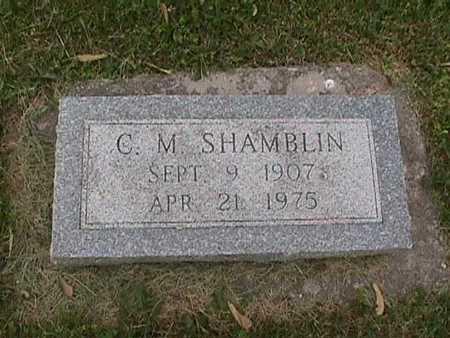 SHAMBLIN, C. M. - Henry County, Iowa | C. M. SHAMBLIN